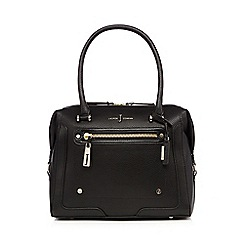 J by Jasper Conran - Black logo bowler bag