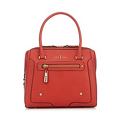 J by Jasper Conran - Coral grained grab bag