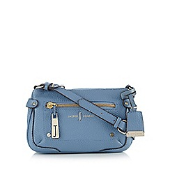 J by Jasper Conran - Light blue zip shoulder bag