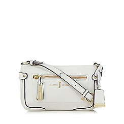 J by Jasper Conran - White zip detail cross body bagß