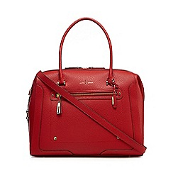J by Jasper Conran - Red large weekender bag