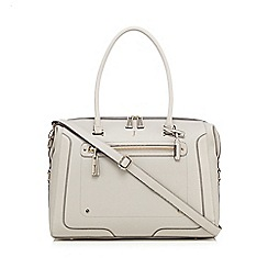 J by Jasper Conran - Grey large weekender bag