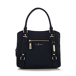 J by Jasper Conran - Navy grained grab bag