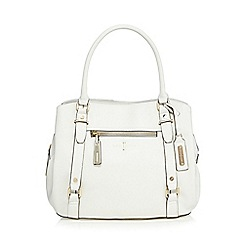J by Jasper Conran - White grained grab bag