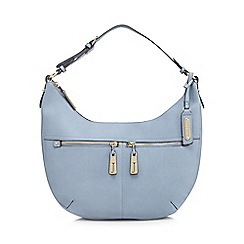 J by Jasper Conran - Light blue double pocket shoulder bagá