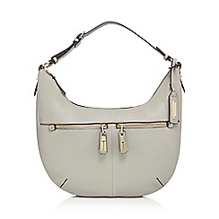 J by Jasper Conran - Grey double pocket shoulder bagá