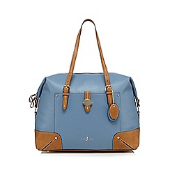 J by Jasper Conran - Light blue weekender bag