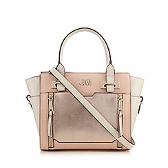 Star by Julien Macdonald - Light pink metallic winged tote bag