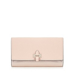 Star by Julien Macdonald - Pink metallic colour block clutch bag