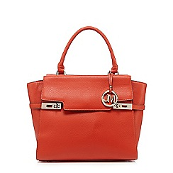 Star by Julien Macdonald - Orange logo charm tote bag