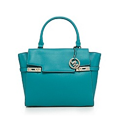 Star by Julien Macdonald - Green double twist lock tote bag