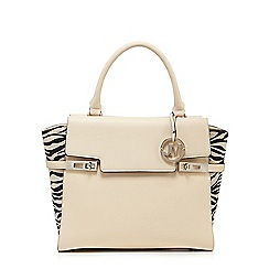 Star by Julien Macdonald - Cream zebra print grab bag