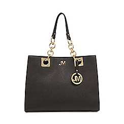 Star by Julien Macdonald - Black chain large grab bag