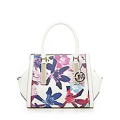 Star by Julien Macdonald - White floral winged grab bag