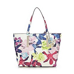 Star by Julien Macdonald - White floral shopper bag