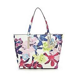 Star by Julien Macdonald - White floral shopper bag