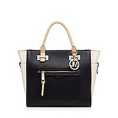 Star by Julien Macdonald - Black colour block tote bag