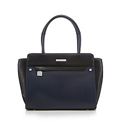 Principles by Ben de Lisi - Black winged tote bag