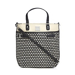 Principles by Ben de Lisi - Black monochrome shopper bag