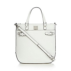 Principles by Ben de Lisi - White textured tote bag