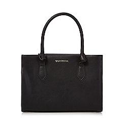 RJR.John Rocha - Black knot detail tote bag