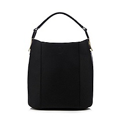 RJR.John Rocha - Black shoulder bag with a detachable insert bag