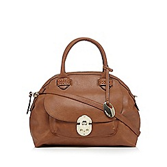 RJR.John Rocha - Tan front pocket dome bag