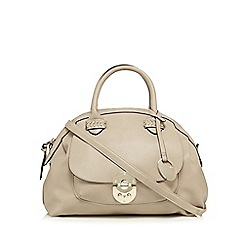 RJR.John Rocha - Cream front pocket dome bag