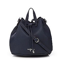 RJR.John Rocha - Navy pebble grain duffle bag