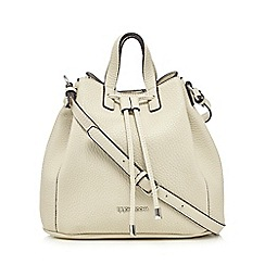 RJR.John Rocha - Cream pebble grain duffle bag