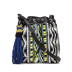 Butterfly by Matthew Williamson - Black aztec duffle bag