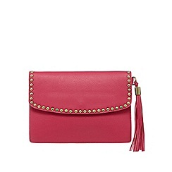 Butterfly by Matthew Williamson - Pink studded clutch bag