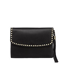 Butterfly by Matthew Williamson - Black studded clutch bag