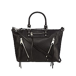 Betty Jackson.Black - Black textured tote bag