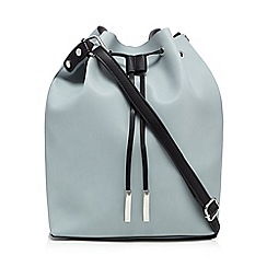Betty Jackson.Black - Light blue duffel bag