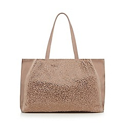 Nine by Savannah Miller - Light pink studded shopper bag