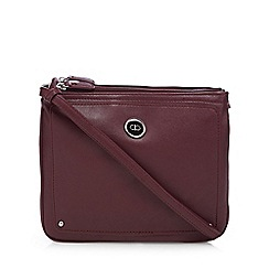 The Collection - Dark red zip top organiser