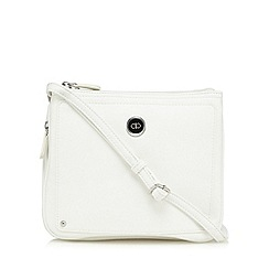 The Collection - White zip top organiser