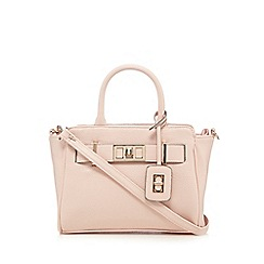 The Collection - Light pink metal detail grab bag