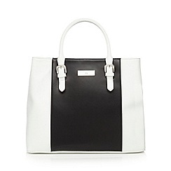 The Collection - White stripe colour block grab bag