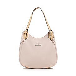 The Collection - Light pink three compartment shoulder bag