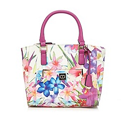 The Collection - Pink floral print grab bag