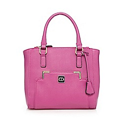 The Collection - Pink front pocket grab bag