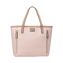 The Collection - Light pink double zip grab bag