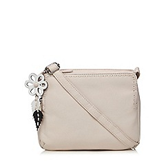 The Collection - Light pink leather cross body bag