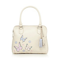 The Collection - Cream butterfly applique grab bag