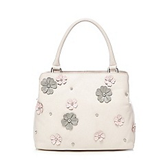 The Collection - Light pink applique flower grab bag