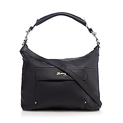 Mantaray - Black contrasting trim shoulder bag