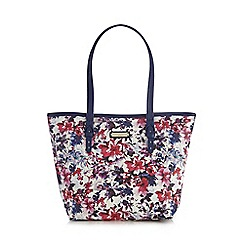 Bailey & Quinn - Navy floral printed shoulder bag