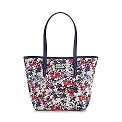 Bailey & Quinn - Navy floral printed shoulder bag